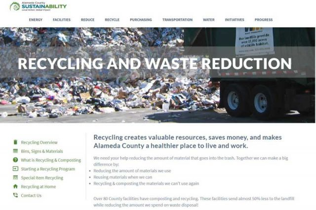 Alameda County Waste Reduction